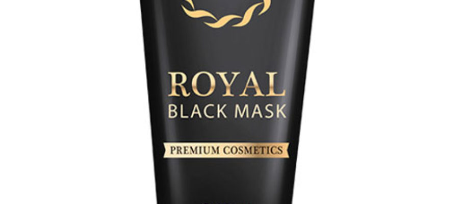 royal black mask